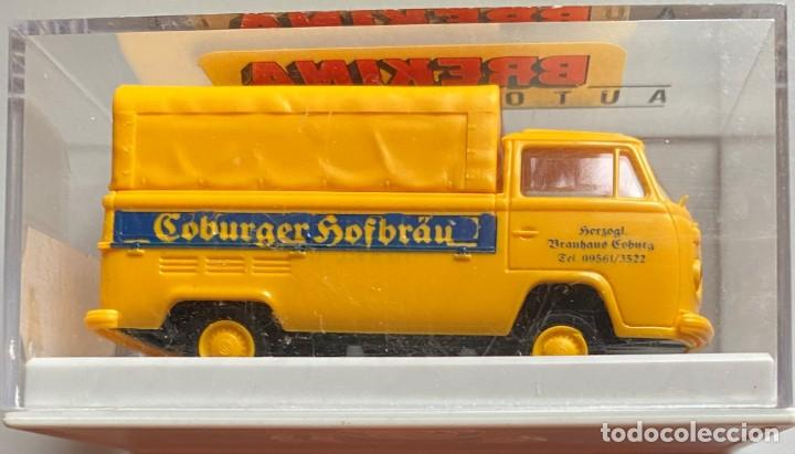 BREKINA - ESCALA HO - COBURGER HOFBRÄU - VW T2 (Juguetes - Coches a Escala Otras Escalas )