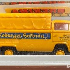 Coches a escala: BREKINA - ESCALA HO - COBURGER HOFBRÄU - VW T2. Lote 203528776