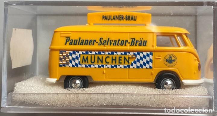 BREKINA - ESCALA HO - PAULANER SALVATOR BRÄU - VW T1 (Juguetes - Coches a Escala Otras Escalas )