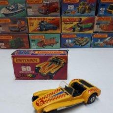Coches a escala: MATCHBOX EN CAJA NEW 60 LOTUS SUPER SEVEN AÑO 1974. Lote 203963360