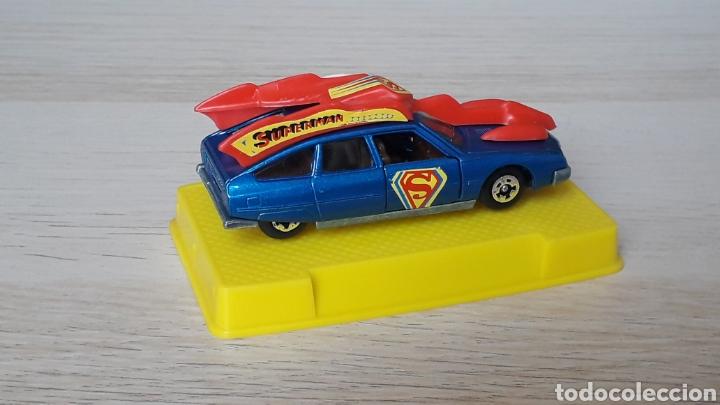 Coches a escala: Citroën CX 2400 Palas *Superman* ref. 2155, metal esc. 1/64, Mira Ibi made in Spain, años 70-80. - Foto 6 - 204088367