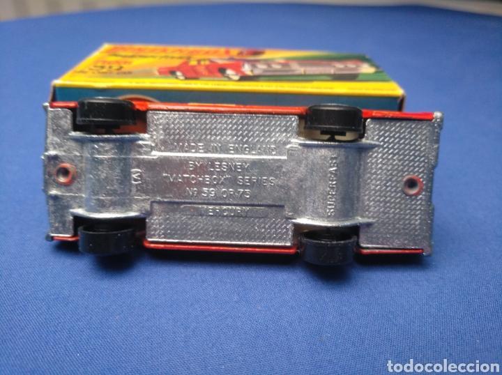 Coches a escala: MATCHBOX SUPERFAST NEW 59, MERCUTY FIRE CHIEF CAR, NUEVO Y EN CAJA, ESCALA 1/64 - Foto 5 - 204128671
