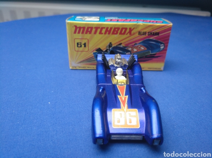 Coches a escala: MATCHBOX SUPERFAST NEW 61, BLUE SHARK, NUEVO Y EN CAJA, ESCALA 1/64 - Foto 2 - 204130832