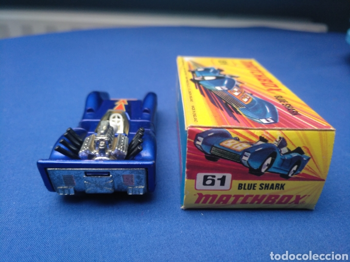 Coches a escala: MATCHBOX SUPERFAST NEW 61, BLUE SHARK, NUEVO Y EN CAJA, ESCALA 1/64 - Foto 4 - 204130832