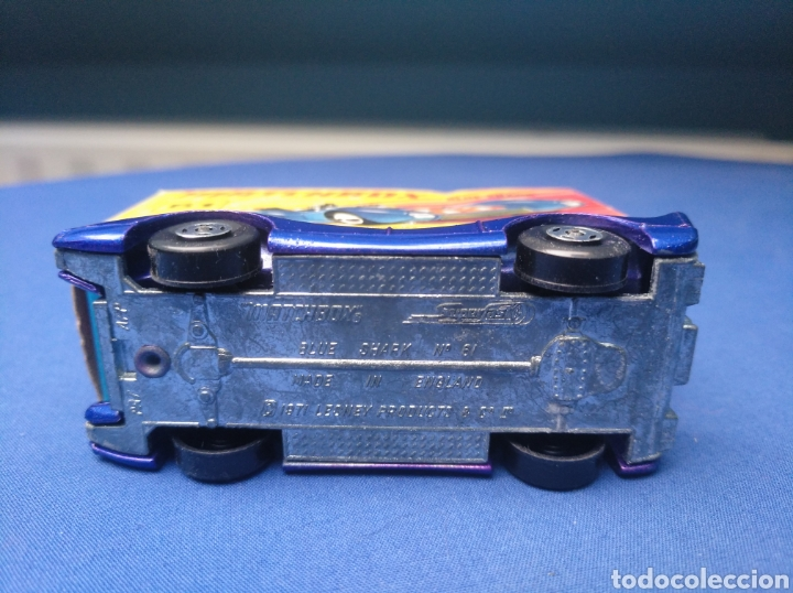 Coches a escala: MATCHBOX SUPERFAST NEW 61, BLUE SHARK, NUEVO Y EN CAJA, ESCALA 1/64 - Foto 5 - 204130832