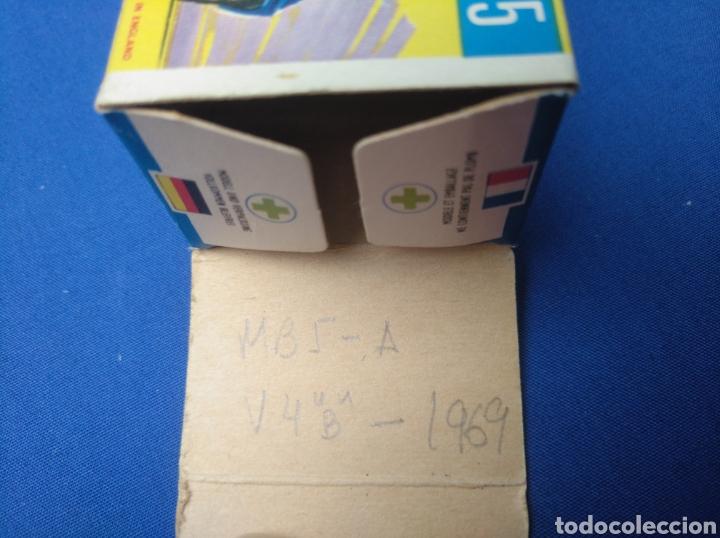 Coches a escala: MATCHBOX SUPERFAST NEW 5, LOTUS EUROPA (AZUL) , NUEVO Y EN CAJA, ESCALA 1/64 - Foto 6 - 204131711