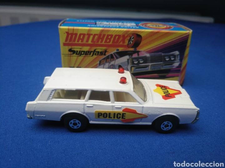 Coches a escala: MATCHBOX SUPERFAST NEW 55, MERCURY POLICE CAR (MODELO 2), NUEVO Y EN CAJA, ESCALA 1/64 - Foto 3 - 204132247
