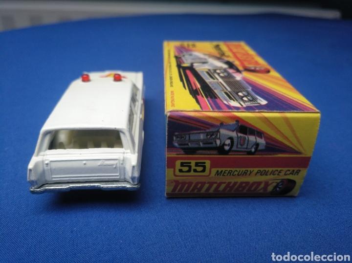 Coches a escala: MATCHBOX SUPERFAST NEW 55, MERCURY POLICE CAR (MODELO 2), NUEVO Y EN CAJA, ESCALA 1/64 - Foto 4 - 204132247