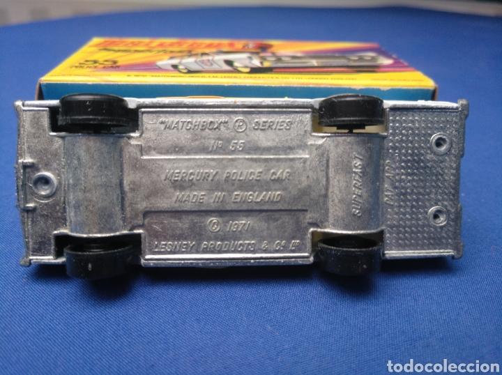 Coches a escala: MATCHBOX SUPERFAST NEW 55, MERCURY POLICE CAR (MODELO 2), NUEVO Y EN CAJA, ESCALA 1/64 - Foto 5 - 204132247