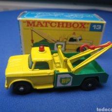 Coches a escala: MATCHBOX SERIES , DODGE WRECK TRUCK, 13 , NUEVO Y EN CAJA, ESCALA 1/64. Lote 204133546