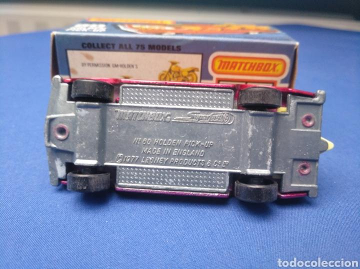 Coches a escala: MATCHBOX SUPERFAST HOLDEN PICK UP , NEW 60 , NUEVO Y EN CAJA, ESCALA 1/64 - Foto 5 - 204134351