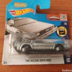 Carros em escala: TIME MACHINE HOVER MODE HOT WHEELS 1/64. Lote 204591921