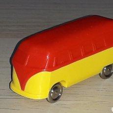 Coches a escala: VW VOKSWAGEN T1 SAMBA BUS, 6 CMS, ESC. H0 1/87 1/80, LEGO TIPO EKO ANGUPLAS, ORIGINAL AÑOS 50.. Lote 204821998
