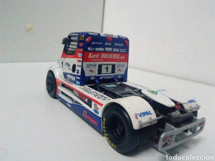 Coches a escala: Cabeza camion carreras muy rara marca buggyra - Foto 3 - 205070730