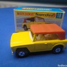 Coches a escala: MATCHBOX SUPERFAST FIELD CAR, NEW 18, , NUEVO Y EN CAJA, ESCALA 1/64.. Lote 205133506