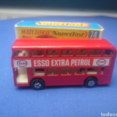 Coches a escala: MATCHBOX SUPERFAST DAIMLER BUS, NEW 74 , NUEVO Y EN CAJA, ESCALA 1/64. Lote 205383442