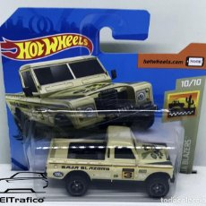 Coches a escala: HOT WHEELS LAND ROVER SERIES III PICKUP CREMA 1:64 HOTWHEELS 2020 // (1). Lote 206303252