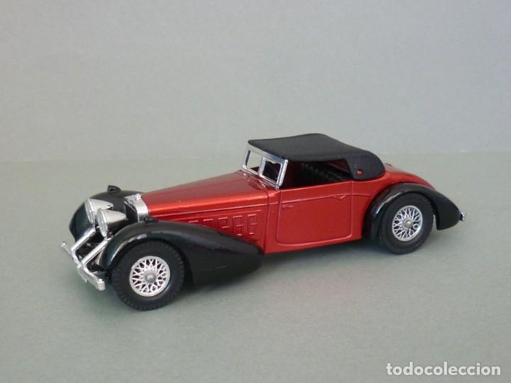 Coches a escala: Matchbox Lesney Yesteryear Nº17 1938 Hispano Suiza. Con su Caja Original. Producido 1973. - Foto 2 - 206363802