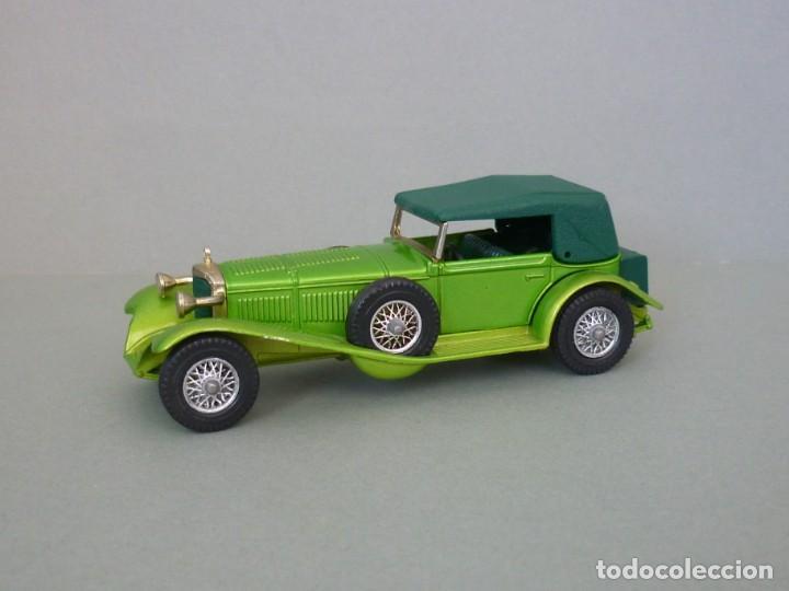 Coches a escala: Matchbox Lesney Yesteryear Nº16, 1928 Mercedes SS Coupe. Con su Caja Original. Producido 1973. - Foto 4 - 206365907