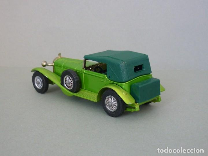 Coches a escala: Matchbox Lesney Yesteryear Nº16, 1928 Mercedes SS Coupe. Con su Caja Original. Producido 1973. - Foto 5 - 206365907