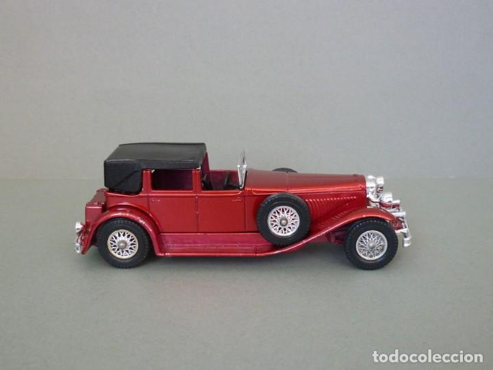Coches a escala: Matchbox Lesney Yesteryear NºY4-4, 1930 Model J Duesenberg. Con su Caja Original. Producido en 1975. - Foto 5 - 206428211