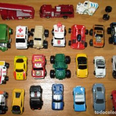 Coches a escala: LOTE 24 VEHÍCULOS TIPO MICROMACHINES,ROADCHAMPS,FUNRISE Y OTROS. Lote 94987752
