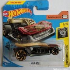 Carros em escala: HOT WHEELS CLIP ROD. EXPERIMOTORS 1/10. Lote 206847240