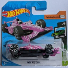 Coches a escala: HOT WHEELS INDY 500 OVAL. SPEED BLUR 3/5. Lote 206889347