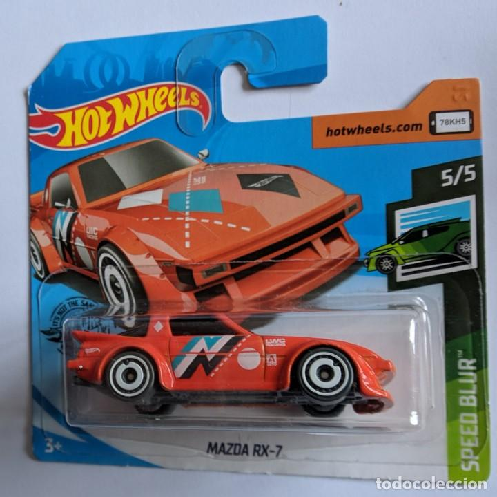 Coches a escala: HOT WHEELS MAZDA RX-7. SPEED BLUR 5/5 - Foto 2 - 206889858
