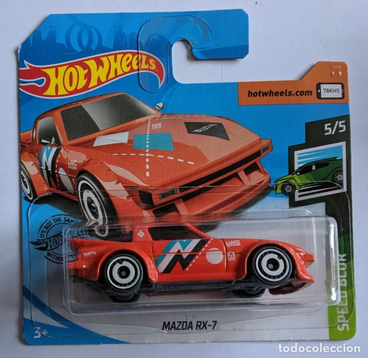 HOT WHEELS MAZDA RX-7. SPEED BLUR 5/5 (Juguetes - Coches a Escala Otras Escalas )