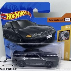 Coches a escala: HOT WHEELS NISSAN SKYLINE GT-R (BNR32) GRIS 1:64 HOTWHEELS 2020 // (5). Lote 207141265