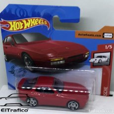Coches a escala: HOT WHEELS PORSCHE 944 TURBO 89 ROJO 1:64 HOTWHEELS 2020 // (5). Lote 207141312