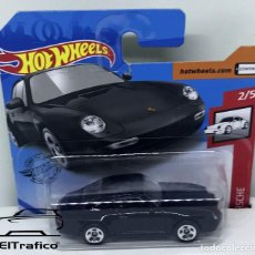 Coches a escala: HOT WHEELS PORSCHE CARRERA 1996 NEGRO 1:64 HOTWHEELS 2020 // (6). Lote 207141333