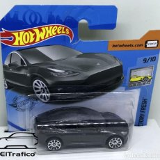 Coches a escala: HOT WHEELS TESLA MODEL 3 GRIS 1:64 HOTWHEELS 2020 // (6). Lote 207141458