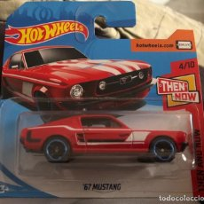 Coches a escala: HOT WHEELS 1/64 67 FORD MUSTANG. Lote 207604908