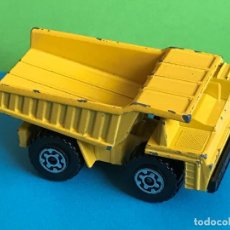 Coches a escala: MATCHBOX LESNEY SUPERFAST Nº 58 FAUN DUMP TRUCK AÑO 1976 MADE IN ENGLAND ESCALA 1/64 ?. Lote 207735063