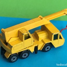 Coches a escala: MATCHBOX LESNEY SUPERFAST Nº 49 CRANE TRUCK AÑO 1976 MADE IN ENGLAND ESCALA 1/64 ?. Lote 207735201