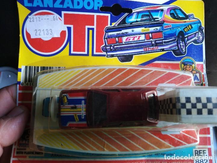 Coches a escala: lanzador coche GTI de mira en blister peugeot 205 blister muy raros .años 80 - Foto 2 - 207893921