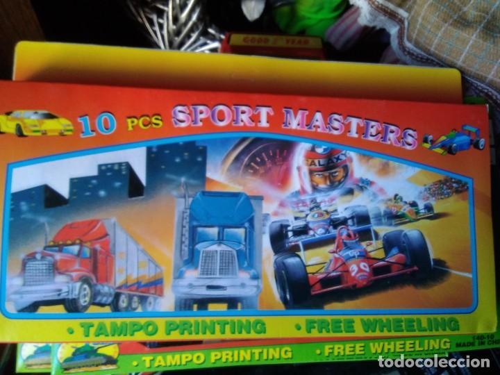 Coches a escala: Set de 10 piezas sport masters Playset - Vehículos plastico - Foto 2 - 209260137