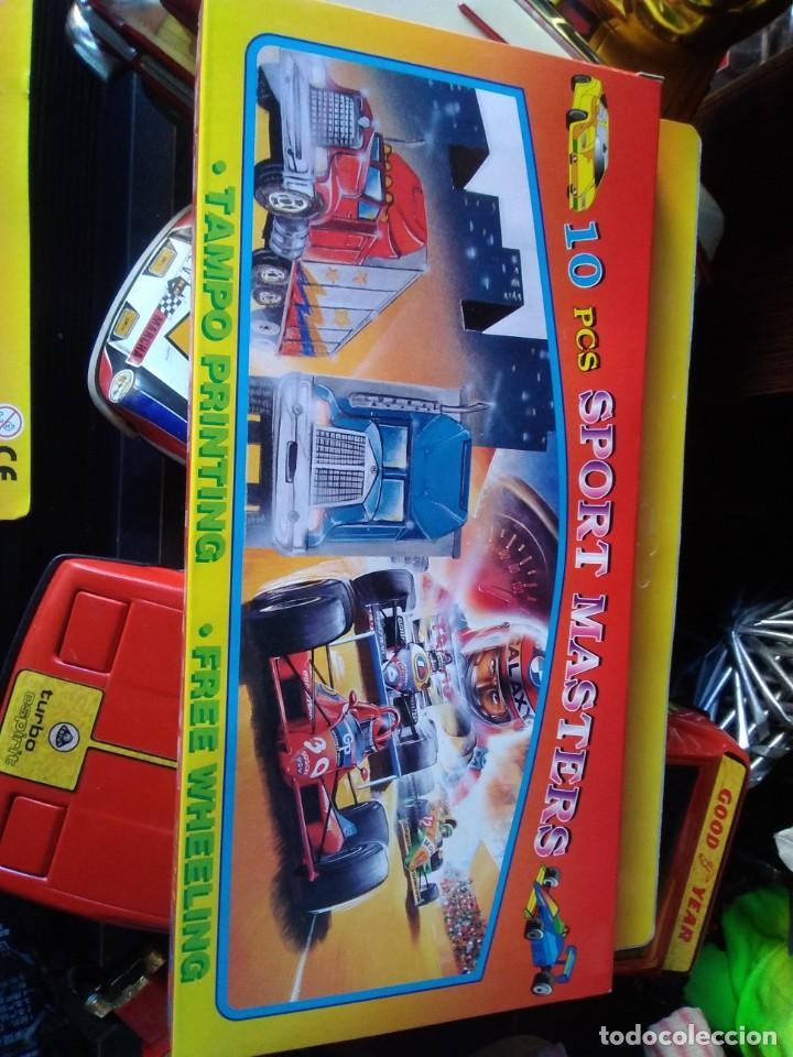 Coches a escala: Set de 10 piezas sport masters Playset - Vehículos plastico - Foto 2 - 209260300