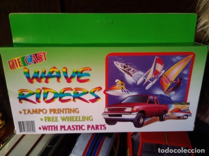 Coches a escala: Set de 6 piezas wave riders Playset - plastico - Foto 2 - 209261526