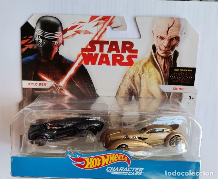 Coches a escala: Star wars hot wheels character cars kylo ren snoke - Foto 1 - 209779576