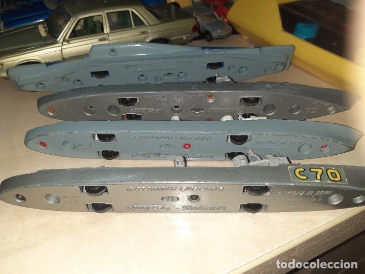 Coches a escala: Matchbox Sea Kings.Lesney England 1976.Lote de 4 barcos de guerra a escala. - Foto 10 - 209894752