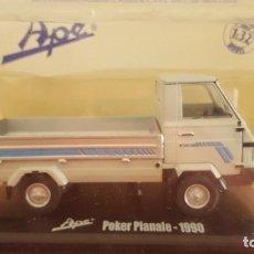 Auto in scala: APE POKER PIANALE 1990 ESCALA 1:32. Lote 209937655