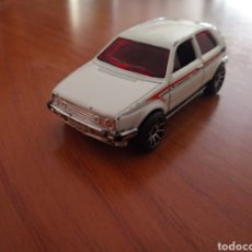Coches a escala: VOLKSWAGEN GOLF BLANCO 1989 MATTEL HOT WHEELS. GOLF CLASICO HOTWHEELS. Lote 209942303