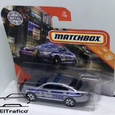 Coches a escala: MATCHBOX FORD POLICE INTERCEPTOR, TIPO HOT WHEELS 1:64 // (17). Lote 210424273