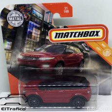 Coches a escala: MATCHBOX RANGE ROVER EVOQUE 2014, TIPO HOT WHEELS 1:64 // (13). Lote 210424365
