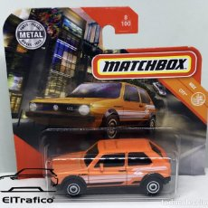 Coches a escala: MATCHBOX VOLKSWAGEN GOLF MK 1, TIPO HOT WHEELS 1:64 // (9). Lote 210424381