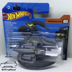 Coches a escala: HOT WHEELS BATMAN BATPLANE GRIS HOTWHEELS 2020 // (2). Lote 210424486