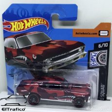 Coches a escala: HOT WHEELS CHEVROLET CHEVY NOVA 68 ROJO 1:64 HOTWHEELS 2020 // (2). Lote 210424518